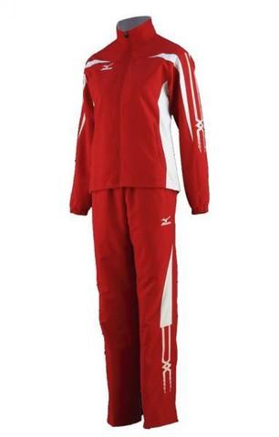 Спортивный костюм Mizuno Woven Track Suit (W) красный