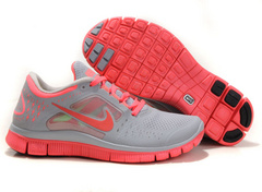 Кроссовки женские Nike Free Run 5.0 Gray Pink