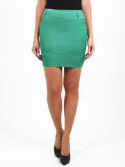 2145-2 юбка зеленая