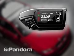 Брелок Pandora LCD DXL 600 black