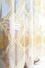 Тюль. Органза (Дамаск)
