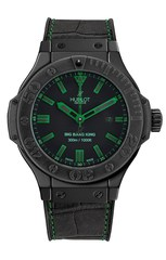 Наручные часы Hublot Big Bang King 48mm All Black Green 322.CI.1190.GR.ABG11