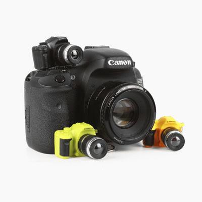 Брелки в виде фотоаппарата (Желтый)