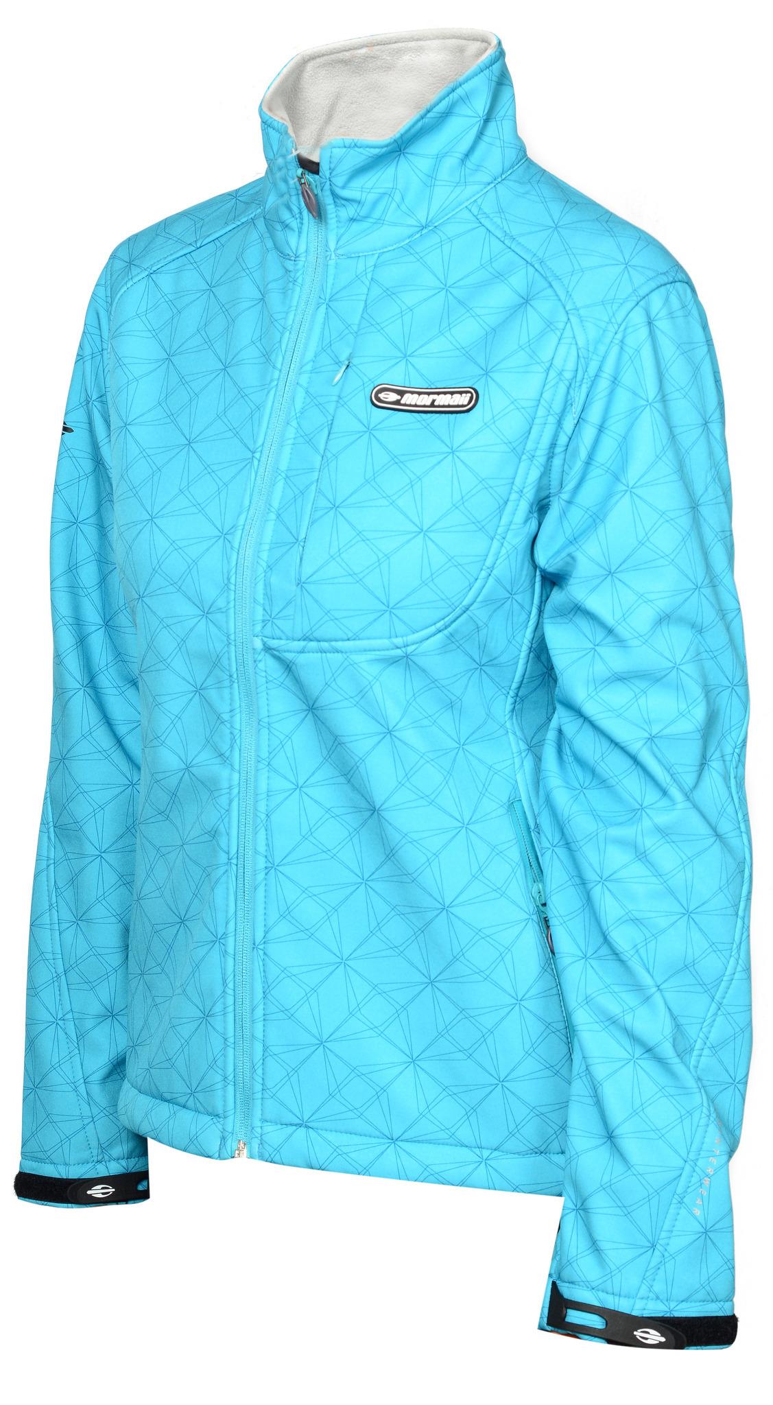 Женская лыжная утепленная куртка Mormaii  Lake Blue (FAMW02)