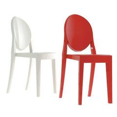 стул Victoria Ghost Chair by by Philippe Starck