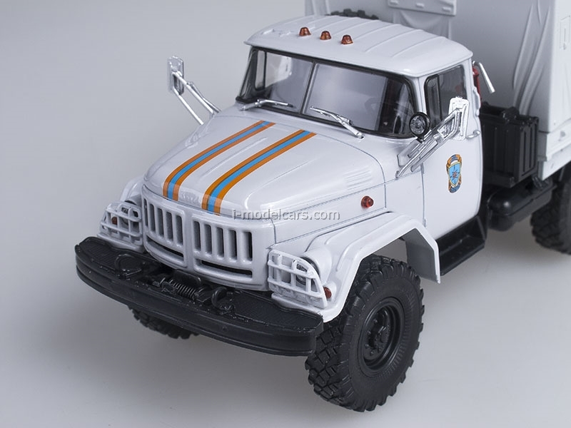ZIL-131 board with awning 6x6 Emergency 1:43 AutoHistory