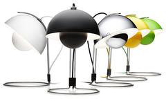 лампа Flowerpot by  Verner Panton
