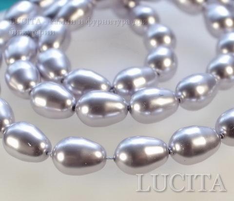 5821 Хрустальный жемчуг Сваровски Crystal Lavender грушевидный 11х8 мм ()