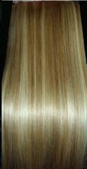 Набор мега 9 прядей #18-#613-мелированные волосы-52 см-Вес набора 150 грамм