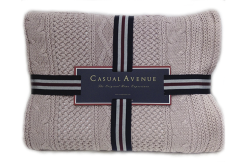 Плед 130х170 Bradford от Casual Avenue розовый