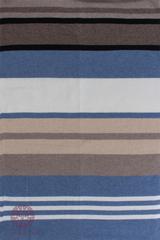 Элитный плед -покрывало Imperio 82 бежевый-синий от Luxberry