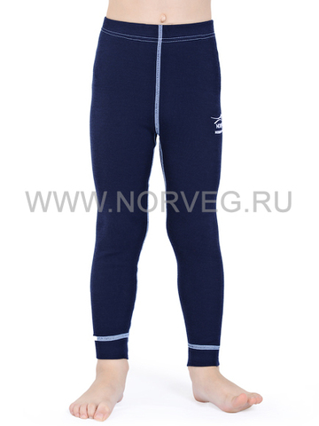Терморейтузы из шерсти мериноса Norveg Soft Dark Blue детские