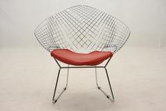 кресло Bertoia Diamond armchair