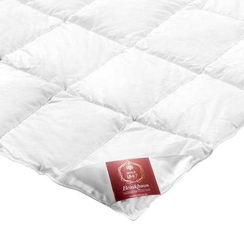 Элитное одеяло пуховое легкое 200х200 Carat от Brinkhaus