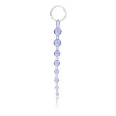 Анальная цепочка First Time Love Beads (2 х 21 см)