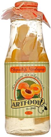 Компот Артфуд из абрикоса,1л