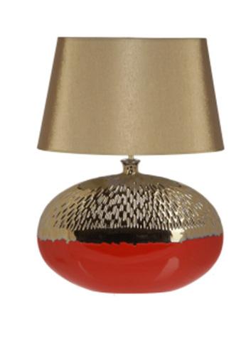 Элитная лампа настольная Copperfield красная от Sporvil