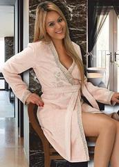 SIDNEY - СИДНЕЙ женский махровый халат / Maison Dor(Турция) .