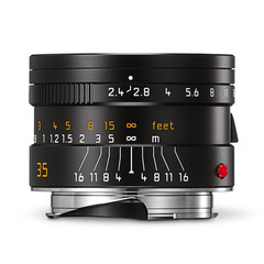 Leica Summarit-M 35mm f/2.4 ASPH black