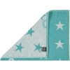 Полотенце 50x100 Cawo Small Stars 525 бирюзовое