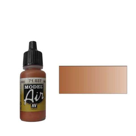 037 Краска Model Air Цв. коричневой глины (Mud Brown) укрывистый, 17мл