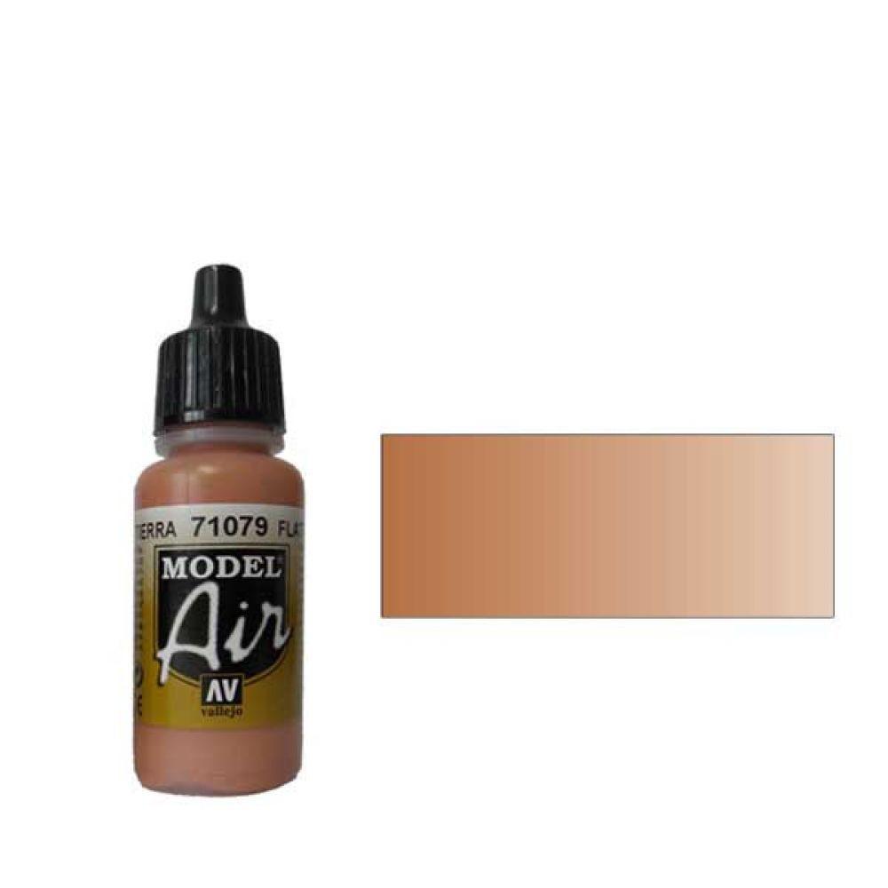 079 Краска Model Air  Желтокоричневый (Tan Earth) укрывистый, 17мл