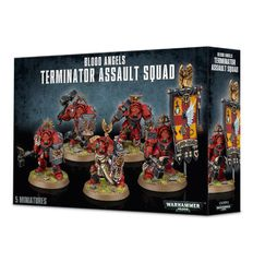 Blood Angels Terminator Assault Squad. Коробка