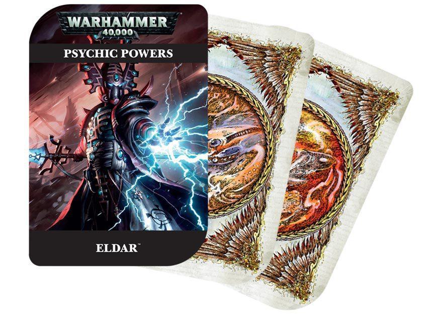 Warhammer 40,000 Psychic Cards: Eldar