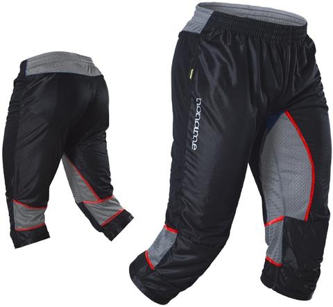 Капри Noname Terminator O-Pants, черный-серый