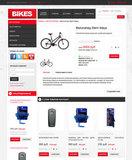 Шаблон интернет магазина - Bikes