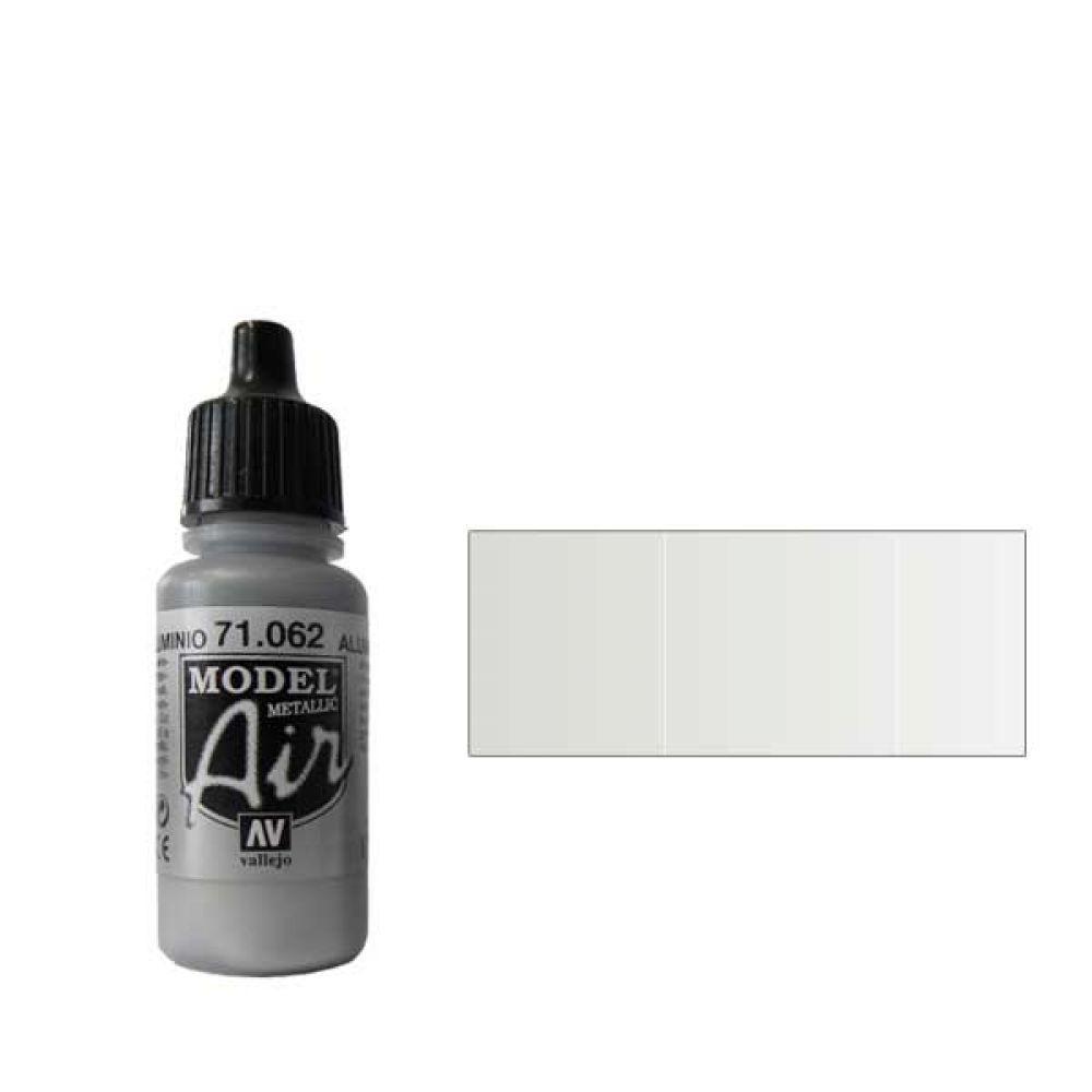 062 Краска Model Air Аллюминевый (Aluminium) металлик, 17мл