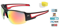 Спортивные очки goggle Zender black/red