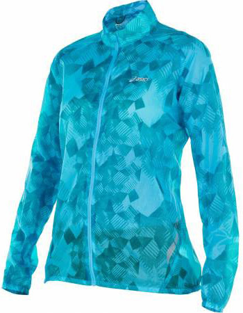 Ветровка Asics Feather Weight Jacket blue женская