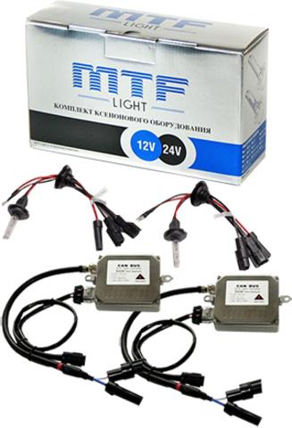 Комплект ксенона MTF Light 50W H1 (6000K)