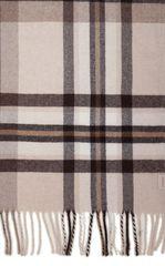 Элитная наволочка декоративная Lux 32 бежевый-коричневый от Luxberry