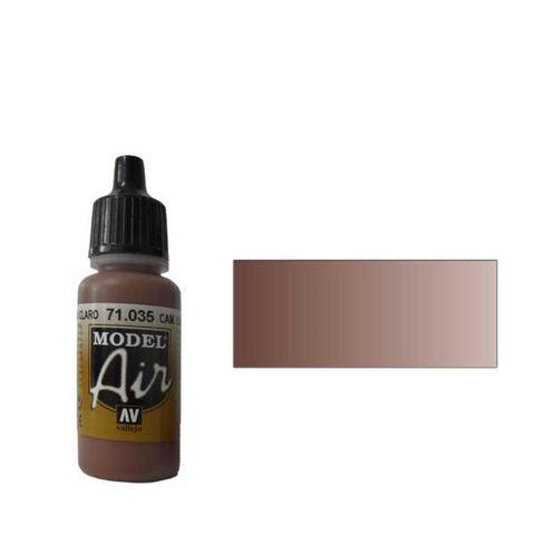 035 Краска Model Air Комуфляжный коричневый светлый (Cam. Pale Brown) укрывистый, 17мл