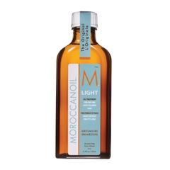 Масло восстанавливающее для тонких и светлоокрашенных волос Moroccanoil light treatment