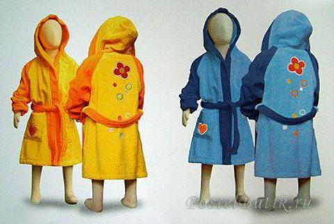 Элитный халат детский Pooh Love от Caleffi