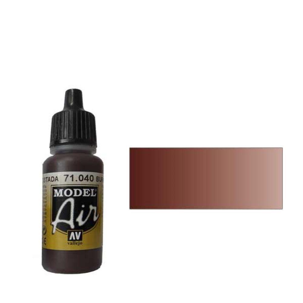 040 Краска Model Air Умбра жженая (Burnt Umber) укрывистый, 17мл
