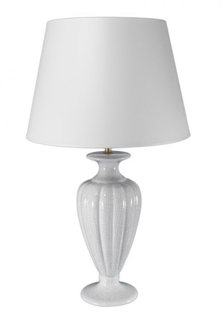 Элитная лампа настольная Classic collection малая белая от Sporvil