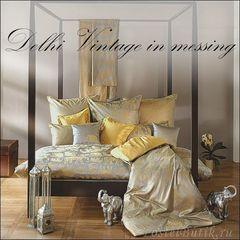 Плед 130х190 Delhi от Curt Bauer золотой