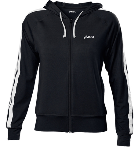 Толстовка Asics Jersey Warm Up Jacket женская Black