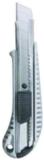 БИБЕР 50116 Нож технический усиленный 18мм металлический корпус (24/144)
