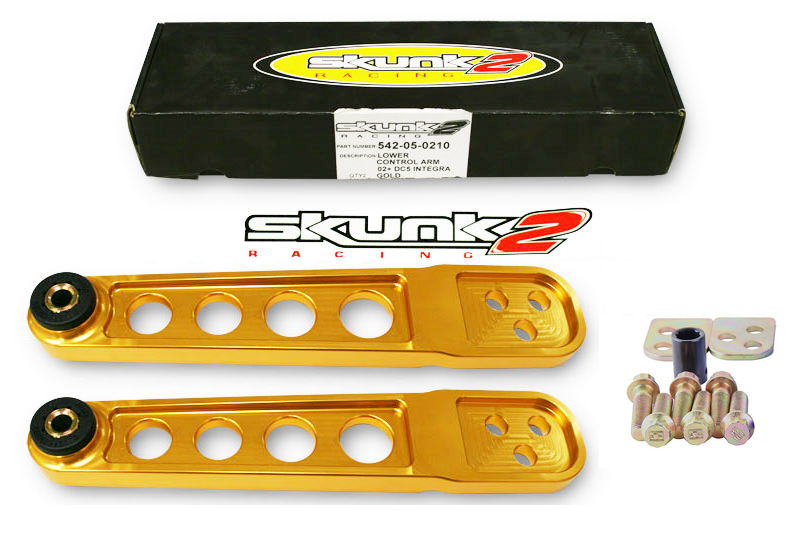 Спортивные задние легкие рычаги на Acura RSX 02-06 Type S