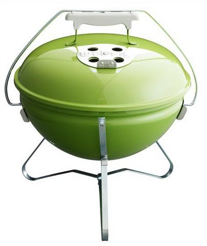 Гриль-барбекю угольный Weber Smokey Joe Premium, 37 cm, салатовый.