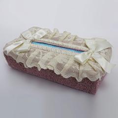 Салфетница для бумажных полотенец Buratto розовая от Old Florence