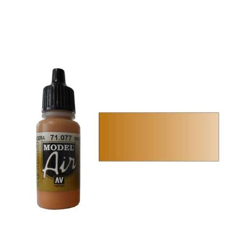077 Краска Model Air Дерево (Wood) укрывистый, 17мл