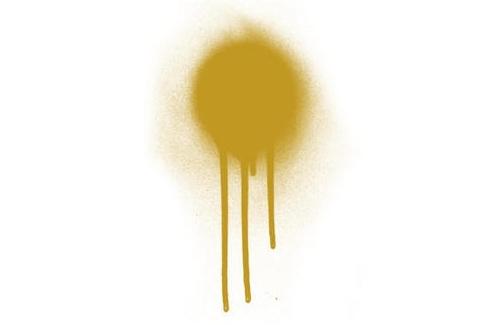 055 Краска Game Air Блестящее золото (Polished gold) укрывистый, 17мл