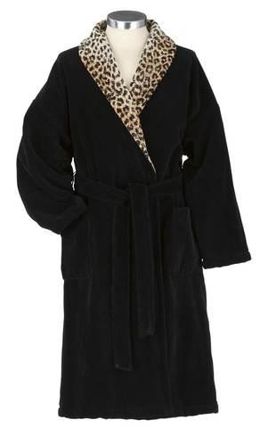 Элитный халат шенилловый Wangari Marius 10 schwarz от Feiler