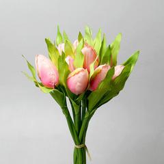 Букет тюльпанов розовый из 9-ти шт., 5568-3